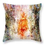 Trial By Fire Throw Pillow