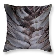 Triangle Palm 2 Throw Pillow