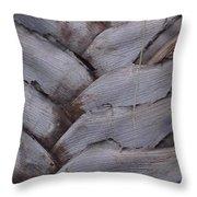 Triangle Palm Throw Pillow