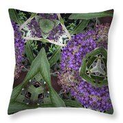 Triangle Surrounded Throw Pillow