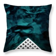 Triangular Abstract Throw Pillow