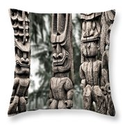Tribal Council Throw Pillow