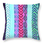 Tribal Pattern 04 Throw Pillow