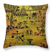 Tribals I Throw Pillow