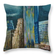 Tribeka Throw Pillow