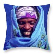 Tribesman Throw Pillow