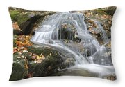 Tributary Of Lost River - Woodstock New Hampshire  Throw Pillow