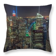 Tribute In Light Iv Throw Pillow
