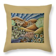Tribute To Aesop Throw Pillow