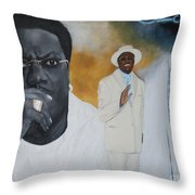 Tribute To Mr. Bernie Mac Throw Pillow