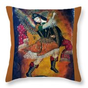 Tribute To The Art Of Cuzco #2 Throw Pillow