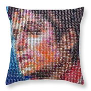 Tribute To The King Of Pop V2 Throw Pillow