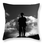 Tribute To The Missing Throw Pillow