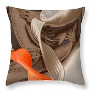 tribute to Van Gogh Throw Pillow