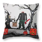 Trick Or Treat. Throw Pillow