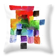 Trickle Down Effect Throw Pillow