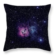 Trifid Nebula M20 Throw Pillow