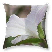 Trillium Backside Throw Pillow