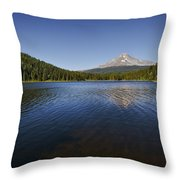 Trillium In The Fall Throw Pillow