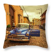Trinidad Chevy Blues  Throw Pillow