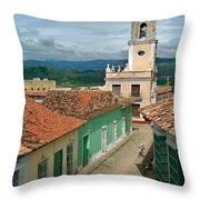 Trinidad - Cuba Throw Pillow