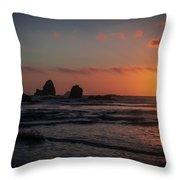 Trinidad Sunset Throw Pillow