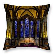 Trinity Chapel Salisbury Cathedral Throw Pillow