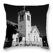 Trinity Church 1871 Throw Pillow