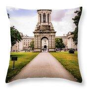 Trinity College Dublin  Throw Pillow