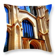 Trinity Episcopal Cathedral Columbia Sc Throw Pillow