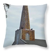Trinity Parish Episcopal Church Throw Pillow