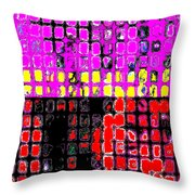 Trio For Trumpet, Alto Saxophone And Flute Throw Pillow by Eikoni Images