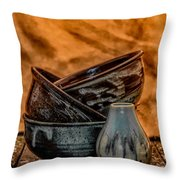 Trio Hdr Throw Pillow