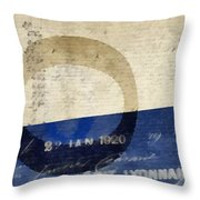 Trip To Paris Throw Pillow