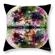 Trip To The Moon Throw Pillow