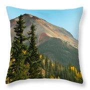 Triple Tree Peak Throw Pillow