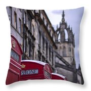 Triplets Throw Pillow