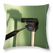 Tripod Study Throw Pillow