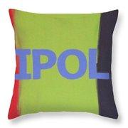 Tripolar Throw Pillow