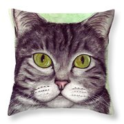 Tripper Throw Pillow