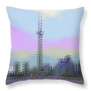 Trippin In T O Throw Pillow