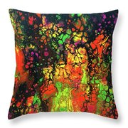 Trippin' In The 70's #13 Throw Pillow