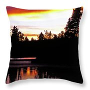 Tripping II Throw Pillow