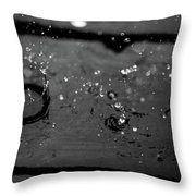 Tripple Splash Throw Pillow