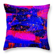Triptych 1 Cropped Throw Pillow
