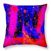 Triptych 2 Cropped Throw Pillow