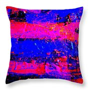 Triptych 3 Cropped Throw Pillow