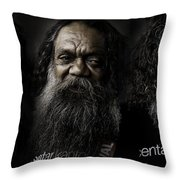 Triptych Of Cedric Throw Pillow