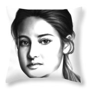 Tris Throw Pillow