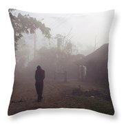 Tristesse Throw Pillow